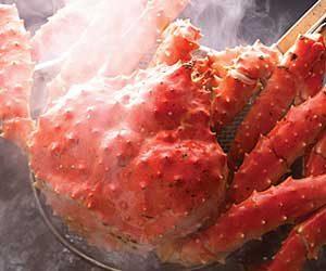 茹で蟹(タラバガニ)