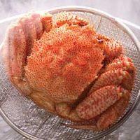 茹で蟹(毛ガニ)