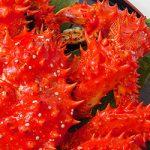 花咲ガニの基本の食べ方…茹で花咲ガニ